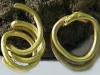 Спирала от златна тръбичка