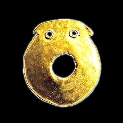 Златна пластина от v хилядолетие пр хр