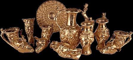 Златното съкровище от Панагюрище